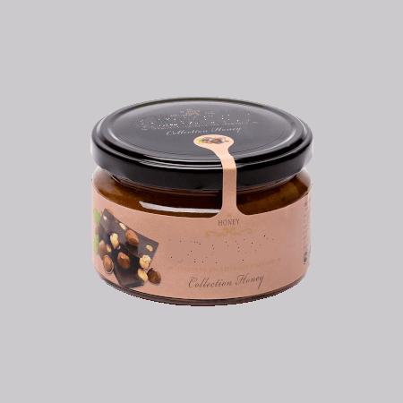 Крем-мёд с фундуком и шоколадом